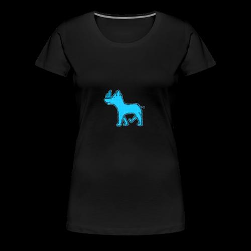 The Diamond Rhino - Women's Premium T-Shirt