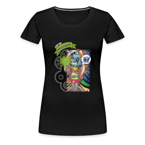 Meet Sam - Wazooz Style - Women's Premium T-Shirt