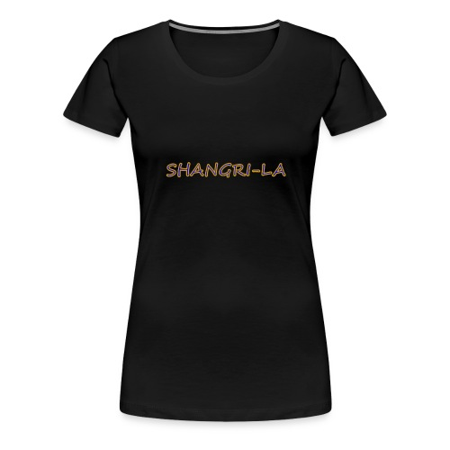 Shangri La gold blue - Women's Premium T-Shirt