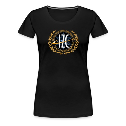 Intergalactic Zionist Conspiracy Charter Member - Women's Premium T-Shirt