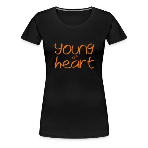young at heart - Women's Premium T-Shirt