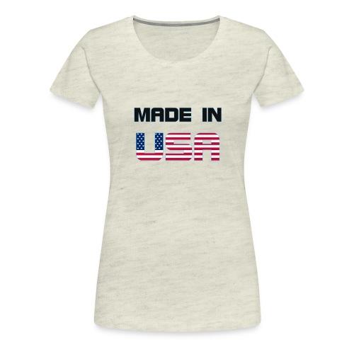 Made in USA - Women's Premium T-Shirt