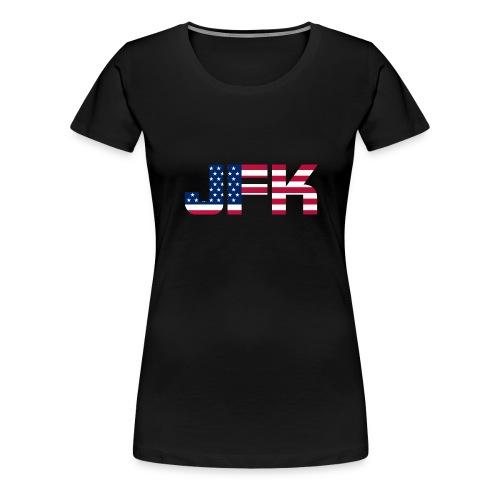JFK - Women's Premium T-Shirt