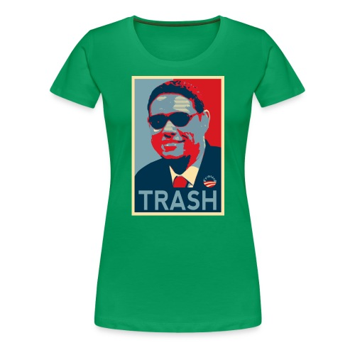 Trash - Women's Premium T-Shirt