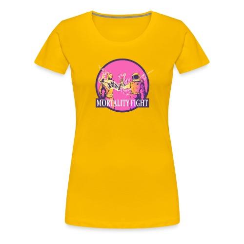 Mortality Fight - Women's Premium T-Shirt