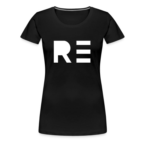 RE Logo - Women's Premium T-Shirt