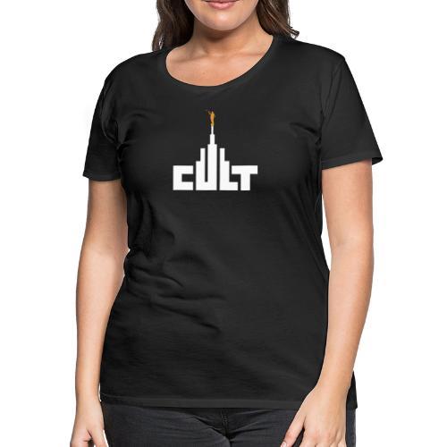 Mormon Cult Design - Women's Premium T-Shirt