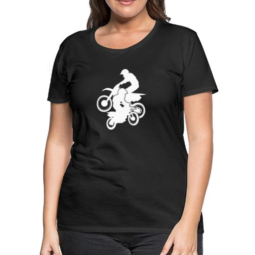 Motocross Dirt Bikes Off-road Motorcycle Racing - Women's Premium T-Shirt