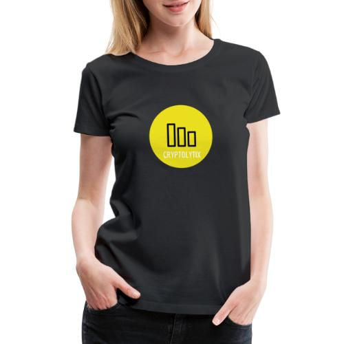 Spread the word with the CRYPTOLYTIX logo - Women's Premium T-Shirt