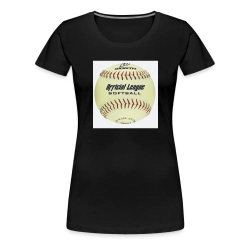 Softball - Women's Premium T-Shirt