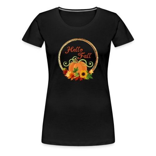 hello fall - Women's Premium T-Shirt