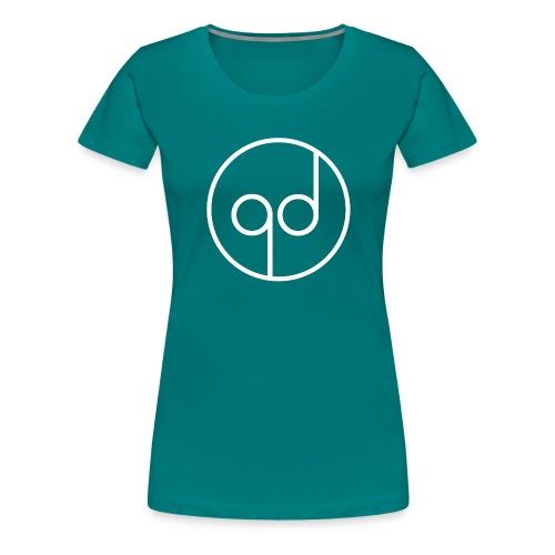 White Icon - Women's Premium T-Shirt