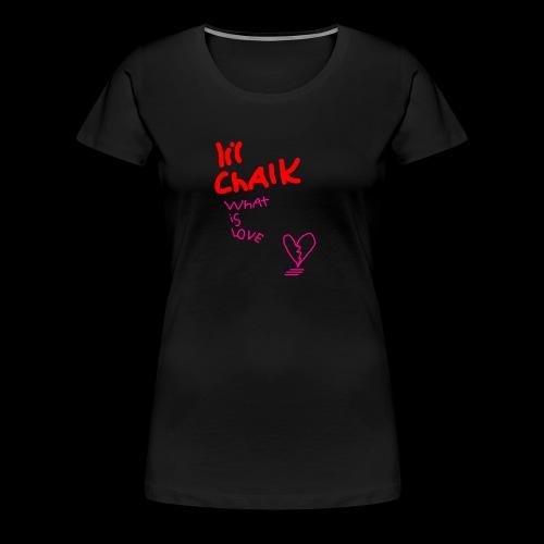 what is love - Women's Premium T-Shirt