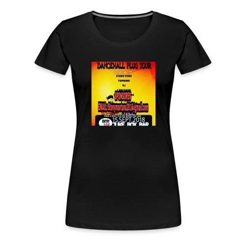 Dancehall plug tour Germany t-shirts TWG MUSIC - Women's Premium T-Shirt