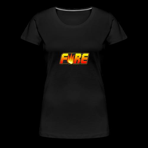 FyRe Logo - Women's Premium T-Shirt