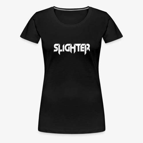 Slighter Logo - Women's Premium T-Shirt