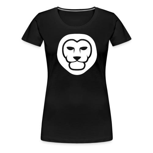 IndieLion Logo white png - Women's Premium T-Shirt