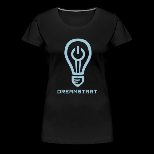 Dreamstart Logo (Black) - Women's Premium T-Shirt