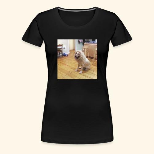 lion dog - Women's Premium T-Shirt