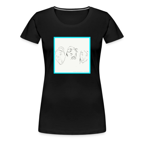 Cartoons - Women's Premium T-Shirt