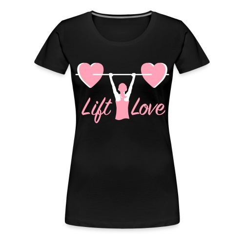 Women Love Fitness Pink Cure - Women's Premium T-Shirt