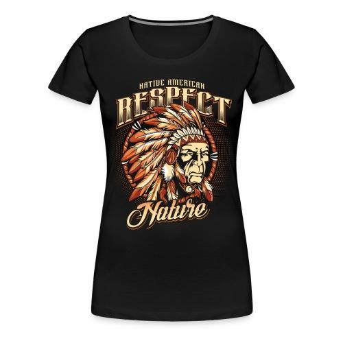 Respect nature - Women's Premium T-Shirt