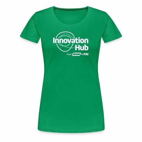 Innovation Hub white logo - Women's Premium T-Shirt