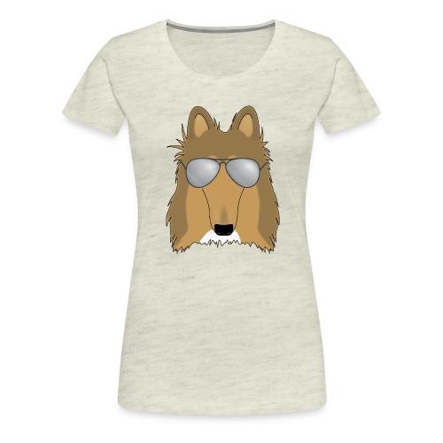 Cool Collie - Women's Premium T-Shirt