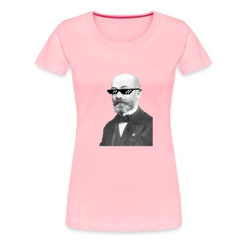 Zamenhof Shades (BW) - Women's Premium T-Shirt