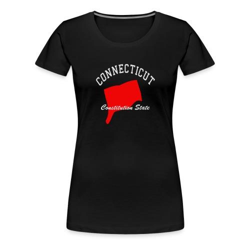 Connecticut Constitutions state - Women's Premium T-Shirt