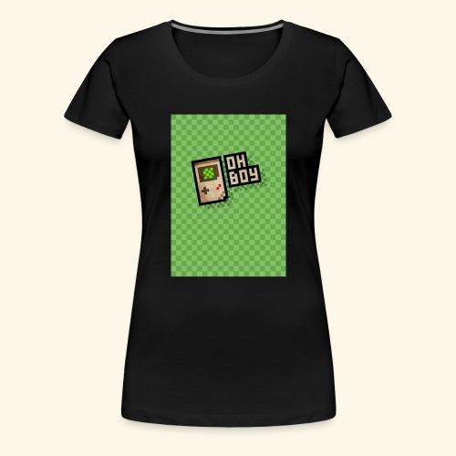 oh boy handy - Women's Premium T-Shirt