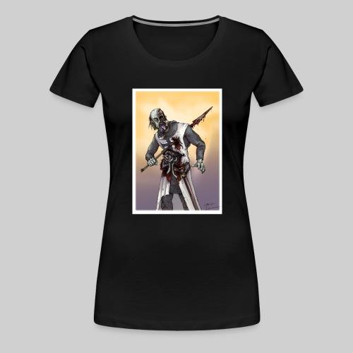 Zombie Crusader - Women's Premium T-Shirt