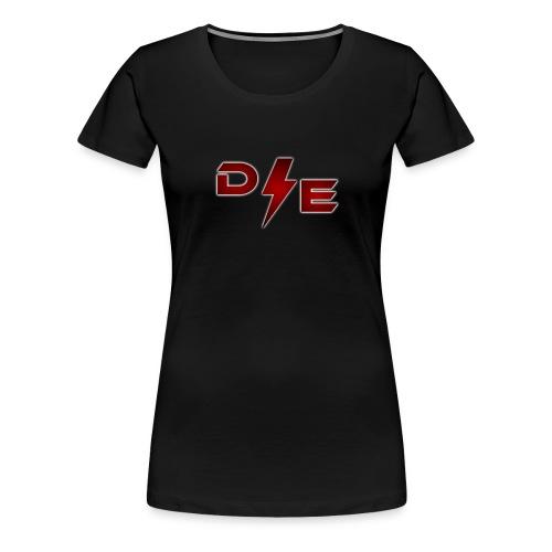 D E png - Women's Premium T-Shirt