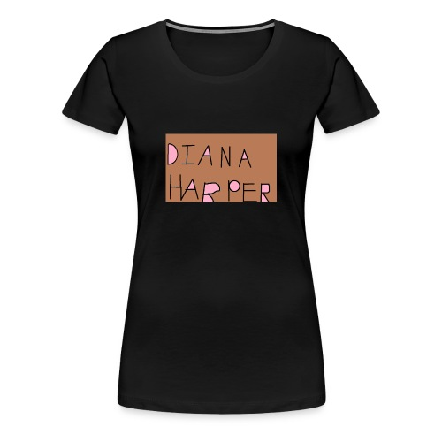 Diana Harper - Women's Premium T-Shirt