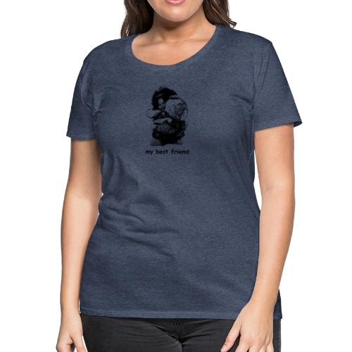 My best friend (girl) - Women's Premium T-Shirt