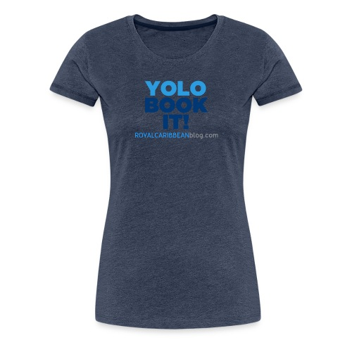 Blue book it - Women's Premium T-Shirt