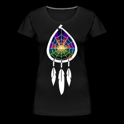 Dreamcatcher Sunset Inspiring 1 - Women's Premium T-Shirt