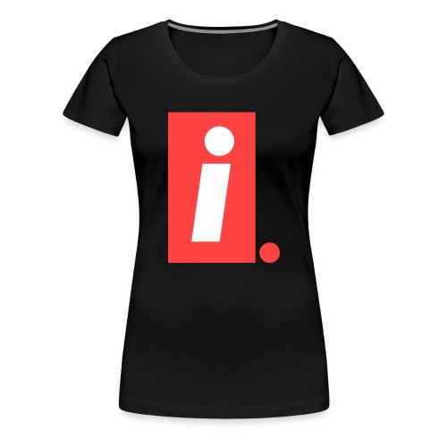 Ideal I logo - Women's Premium T-Shirt