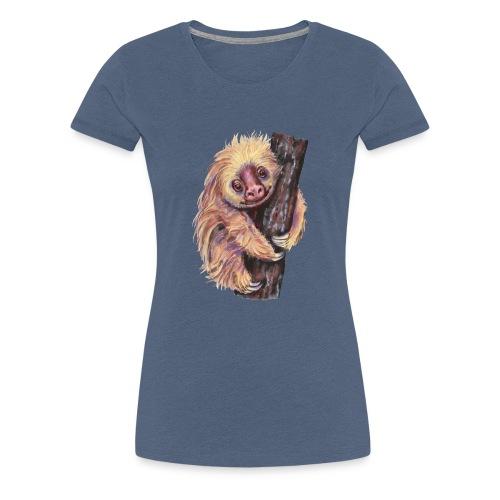 Sloth - Women's Premium T-Shirt