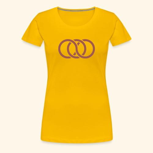 circle paradox - Women's Premium T-Shirt