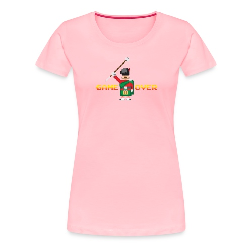 1148830 15380089 game over orig - Women's Premium T-Shirt