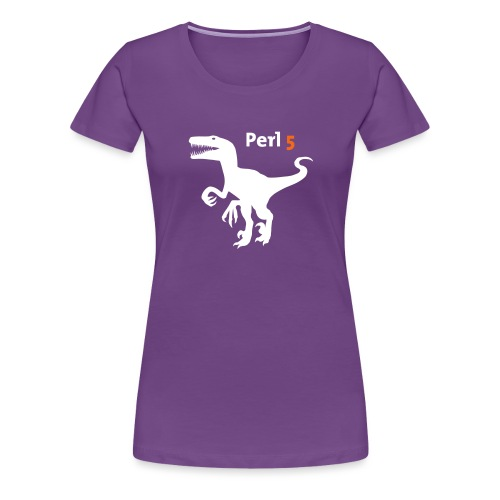 Perl5 Raptor - Women's Premium T-Shirt
