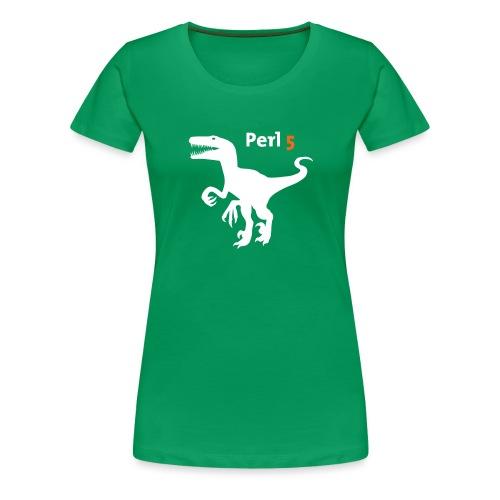 Perl5 Raptor - Women's Premium T-Shirt
