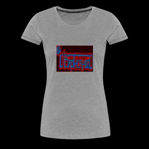 The D'BroTHerHooD Logo - Women's Premium T-Shirt