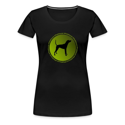 Plott Hound - Women's Premium T-Shirt
