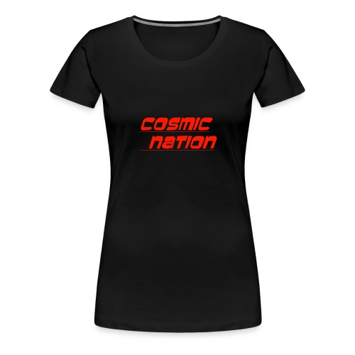 Cosmic Nation Logo - Women's Premium T-Shirt