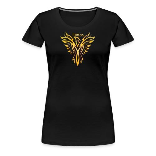 Titus 3:5 - Women's Premium T-Shirt