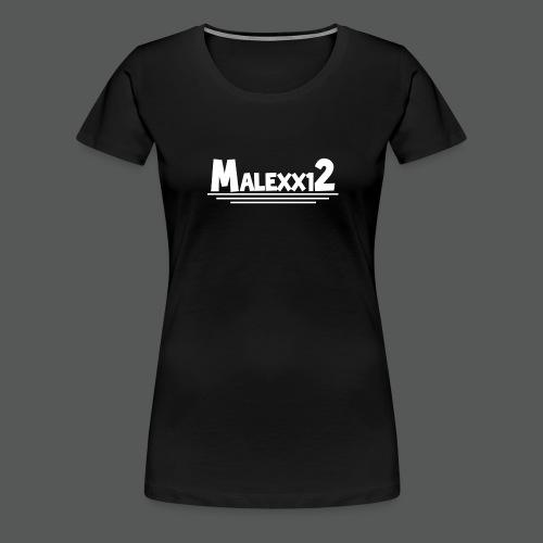 MALEXX12 logo png - Women's Premium T-Shirt