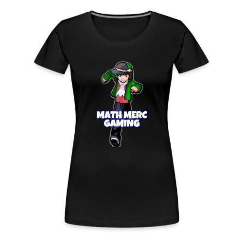 Math Merc Gaming - Women's Premium T-Shirt