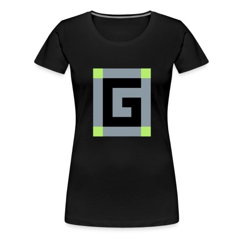 Official G Logo vector Image - Women's Premium T-Shirt